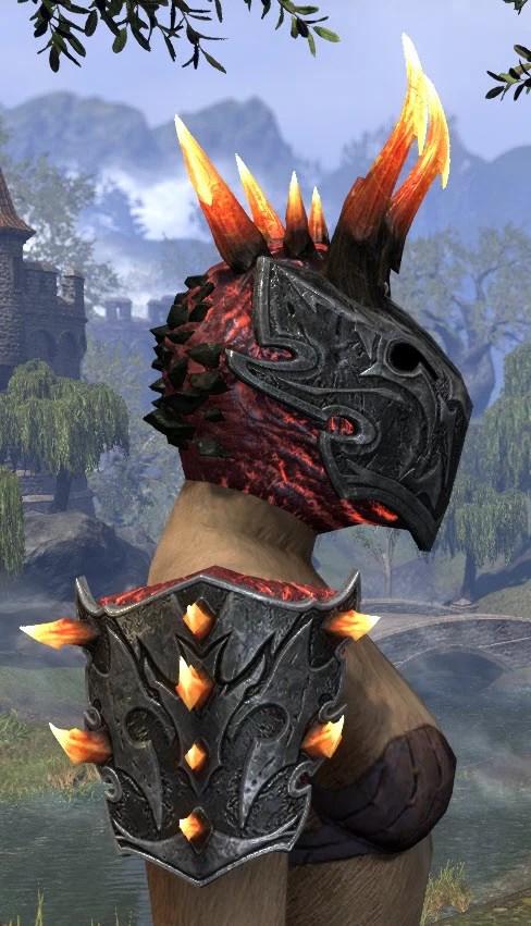 Magma Incarnate - Khajiit Female Right