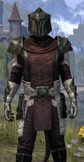 Silver Rose Heavy - Argonian Male Close Front