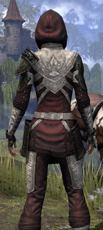 Silver Rose Light - Female Shirt Close Rear