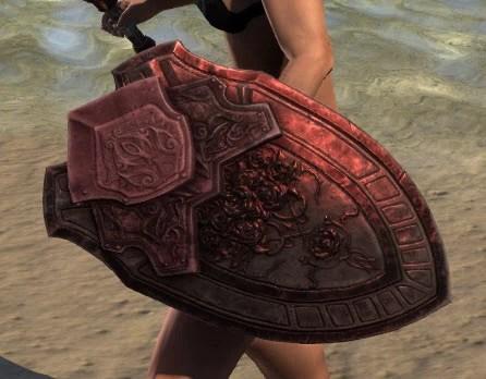 Silver Rose Shield 2
