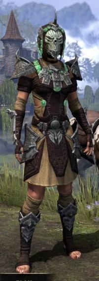 Sul-Xan Ancestor Silk - Female Shirt Front