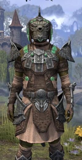 Sul Xan Homespun - Argonian Male Shirt Close Front
