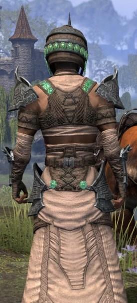 Sul Xan Homespun - Male Robe Close Rear