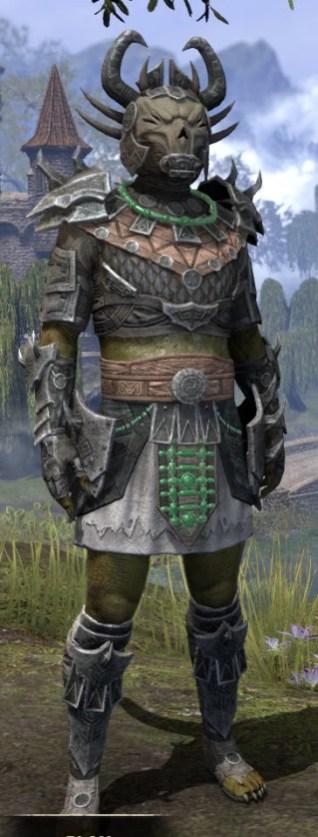 Sul Xan Iron - Argonian Male Front