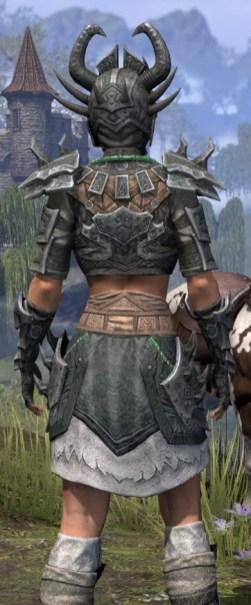 Sul Xan Iron - Female Close Rear