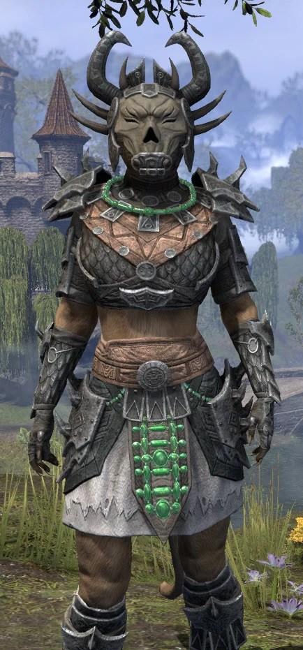 Sul Xan Iron - Khajiit Female Close Front