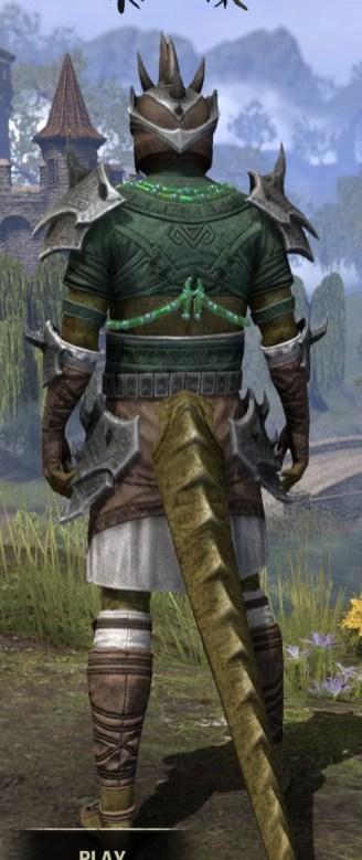 Sul-Xan Rawhide - Argonian Male Rear