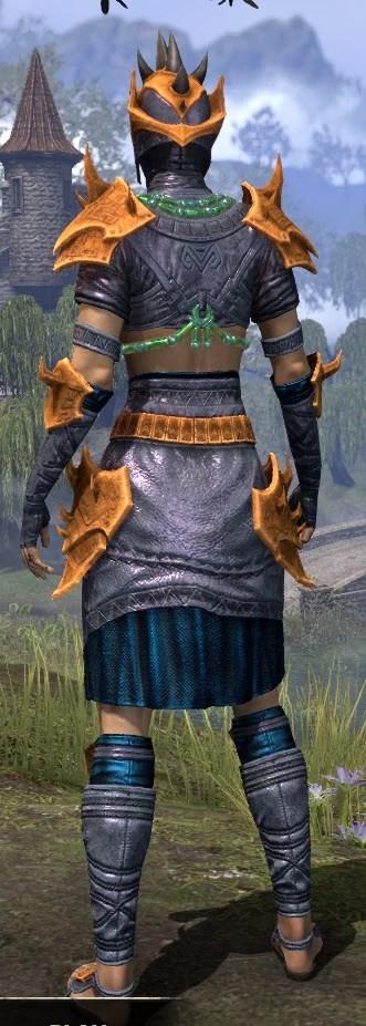 Sul-Xan Rawhide - Dyed Rear