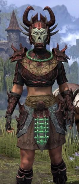 Sul-Xan Rubedite - Female Close Front