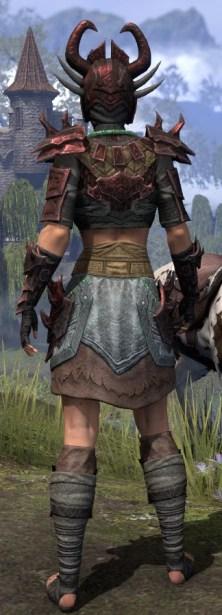 Sul-Xan Rubedite - Female Rear