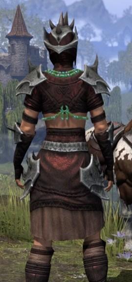 Sul-Xan Rubedo Leather - Female Close Rear