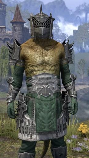 Crimson Oath Iron - Argonian Male Close Front