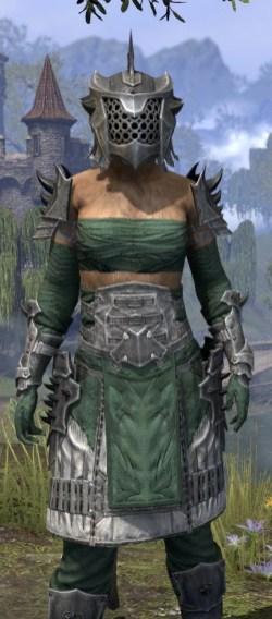 Crimson Oath Iron - Khajiit Female Close Front