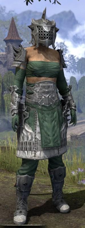Crimson Oath Iron - Khajiit Female Front