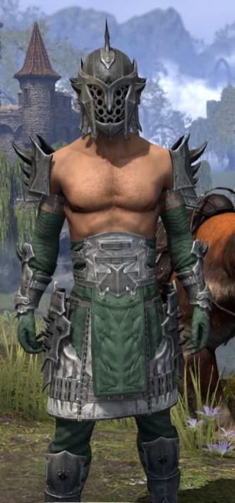 Crimson Oath Iron - Male Close Front