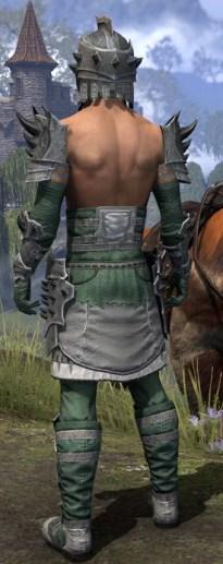 Crimson Oath Iron - Male Rear