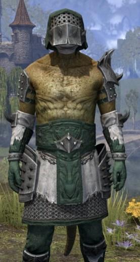 Crimson Oath Rawhide - Argonian Male Close Front
