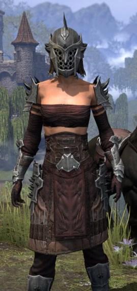 Crimson Oath Rubedite - Female Close Front