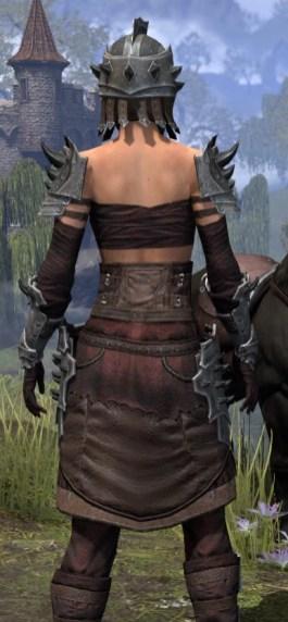 Crimson Oath Rubedite - Female Close Rear
