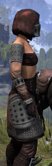 Crimson Oath Rubedo Leather - Female Close Side