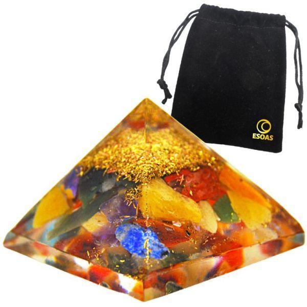 Mini Pyramide Orgonite Chakra