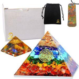Kit Complet Orgonite : Pyramide, Pendentif, Mini Pyramide