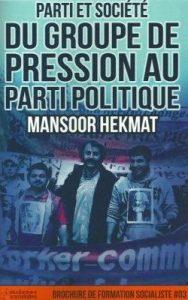 Parti et société du groupe de pression au parti politique