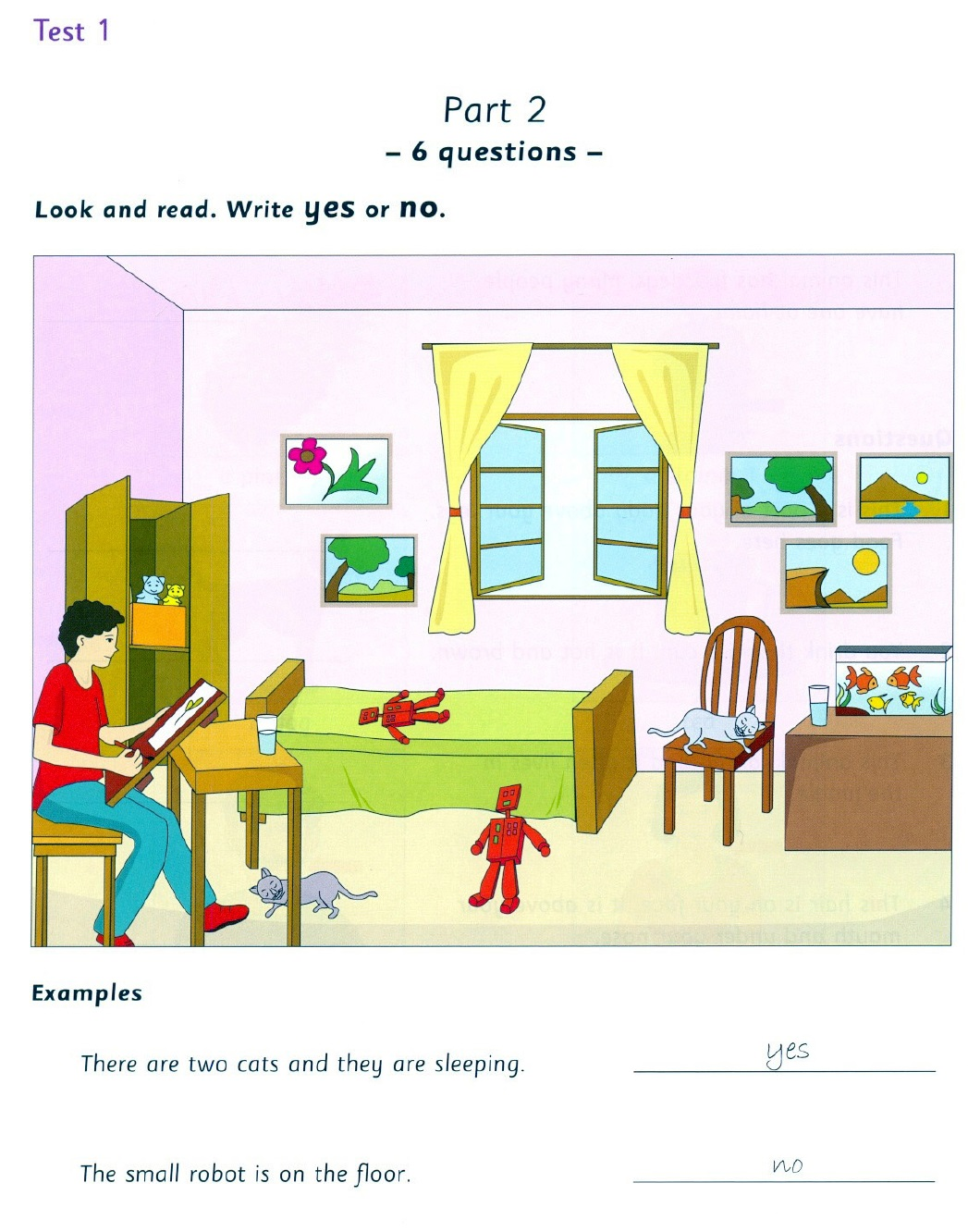 Movers Reading And Writing