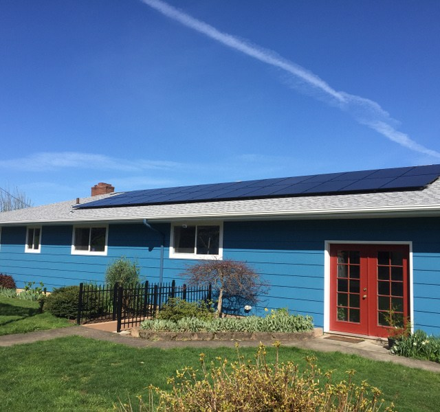 Residential Solar Panel Installation in Oregon
