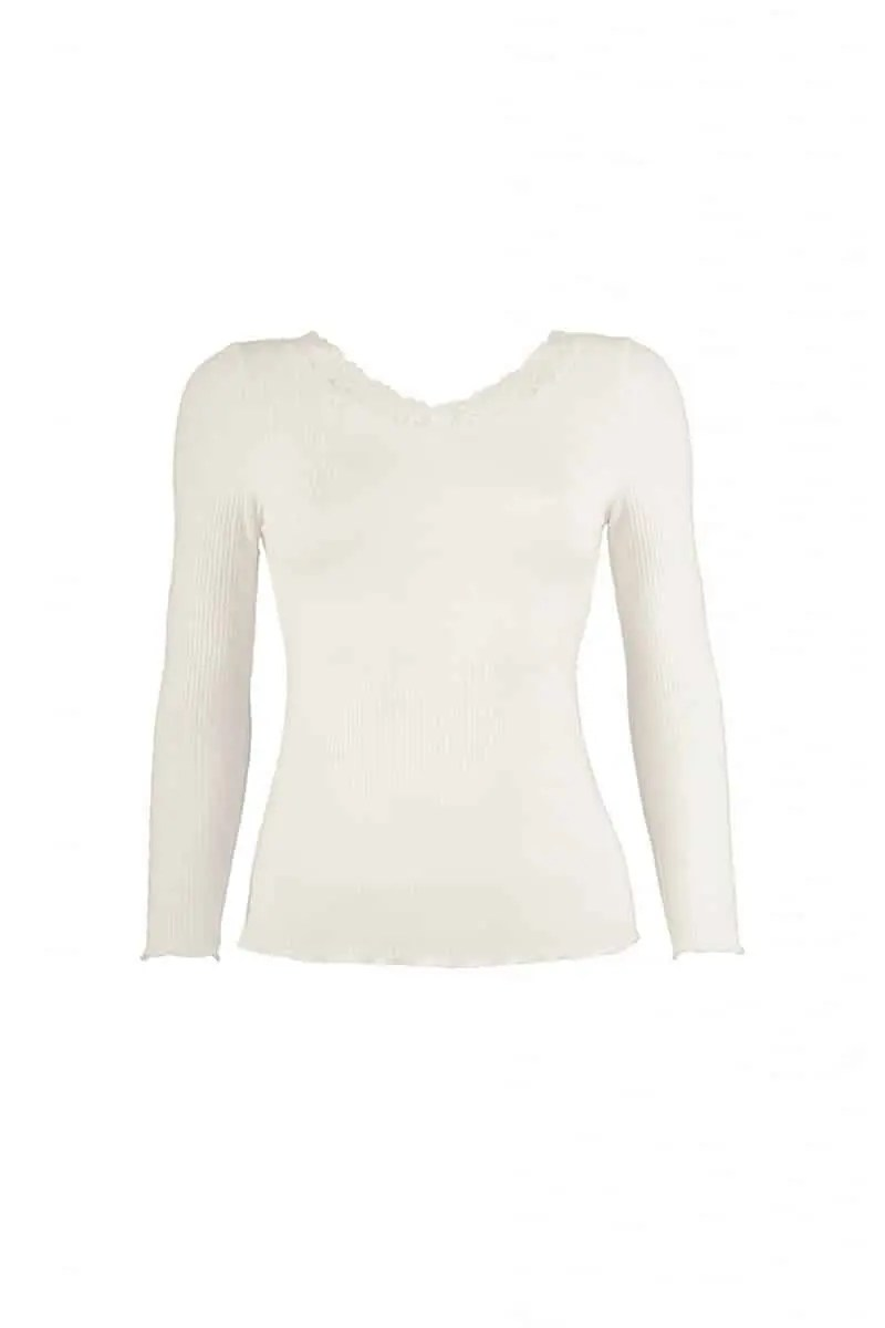 Women's Blouse with Lace - esorama.gr