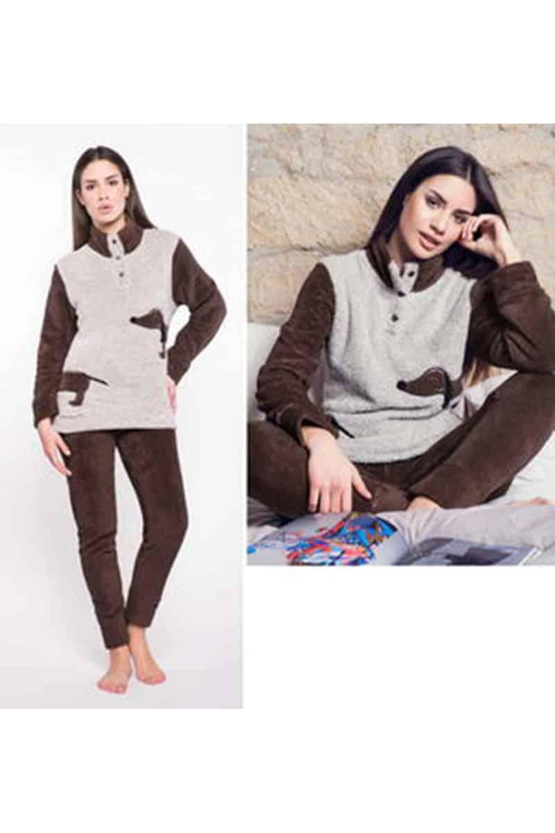 Women's Fleece Pajamas - esorama.gr