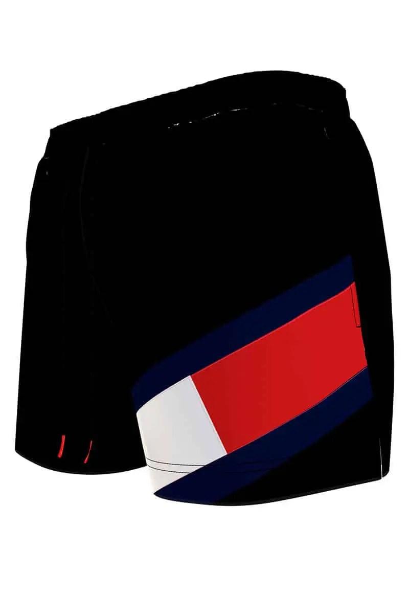 Men's Swimwear With Tommy Hilfiger Flag Um0um02048-BDS -