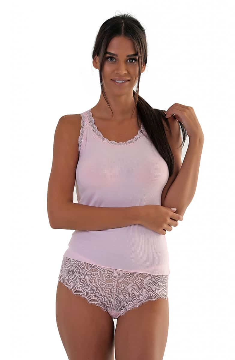 Women's T-Shirt With Raquel Lace -