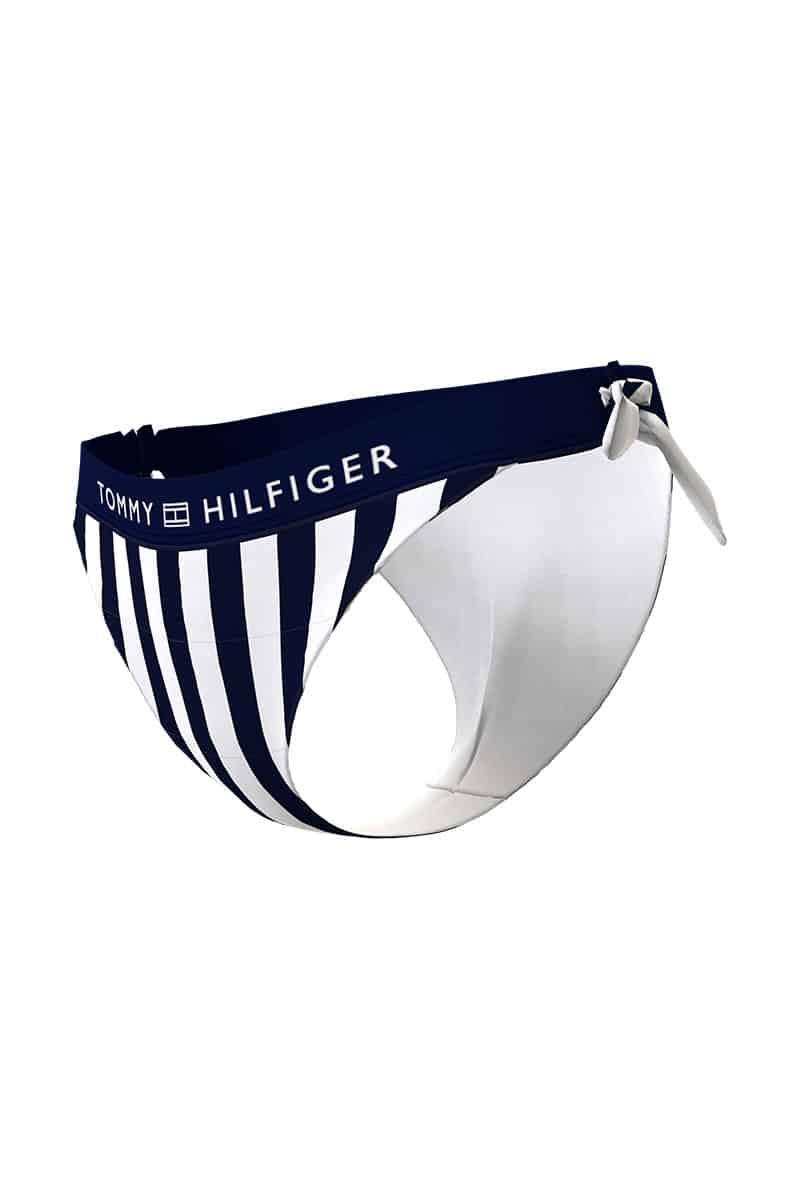 Γυναικείο Bikini Slip Με Ριγέ Μοτίβο Tommy Hilfiger UW0UW02717 01U - Tommy Hilfiger