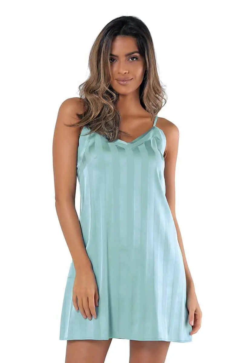 Macaria Women's Satin Nightgown -