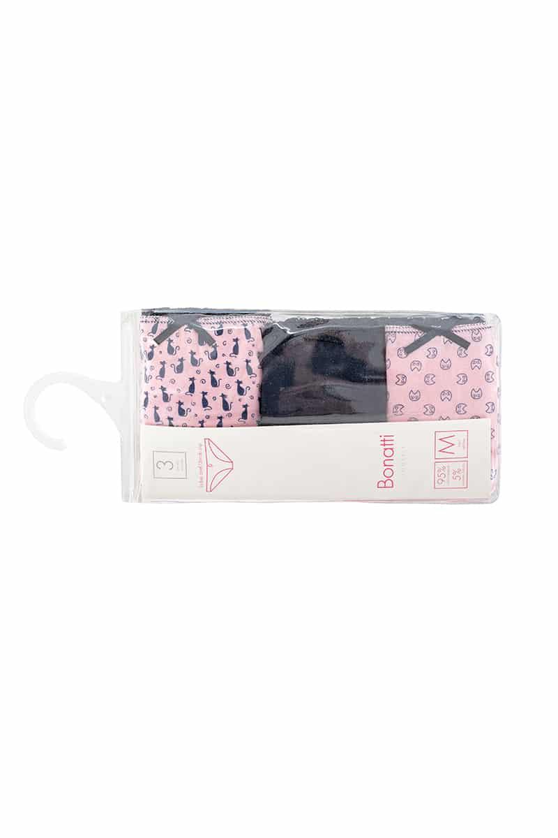 Slip Women Marinella Pink (3 Pack) -