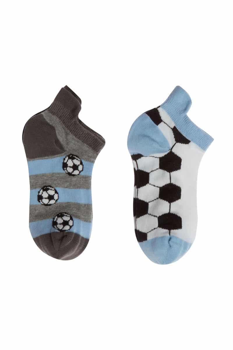 Kids Cotton Sneaker MeWe 3-0204 Football (2 Pairs) -