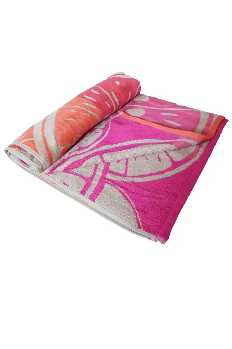 Beach Towel Fruity 100% Cotton 90x170cm - Le Comptoir De La Plage