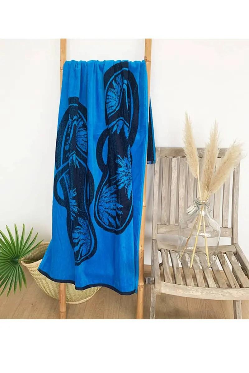 Beach Towel Ypao 100% Cotton 90x170cm - Le Comptoir De La Plage