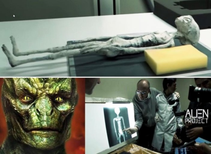 Extraterrestrial mummy found in Peru