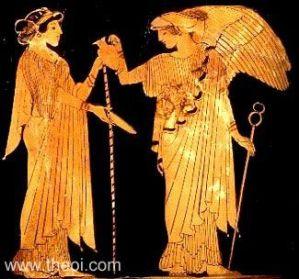 Iris and Hera