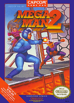 Cover Art for Mega Man 2
