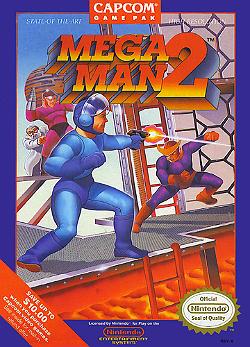 Cover Art for Mega Man 2