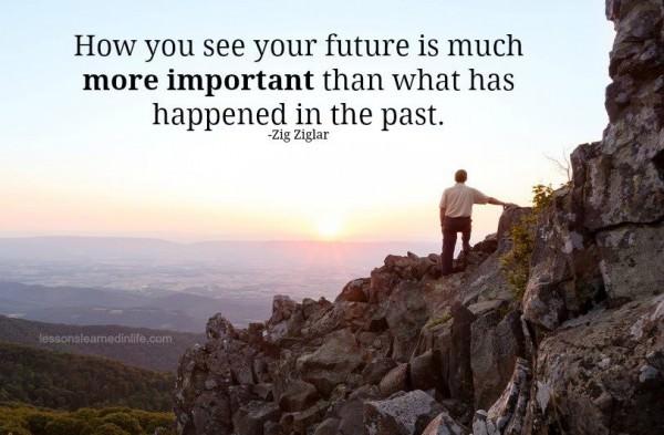 O Futuro pode ser o que você sonhar mensagem