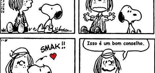 Carinho Snoopy amizade cartoon mensagem