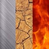 5 elementos Feng Shui água metal terra fogo árvore