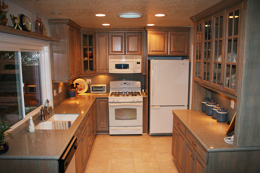 Cabinet Colors For Granite Counters In Orange County Kitchens