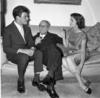 Raymond Chandler in London 1956