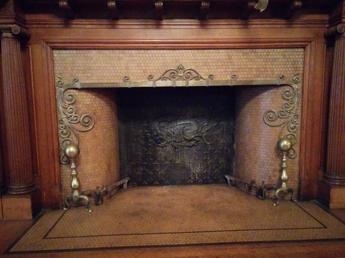 Fireplace, Cupples House
