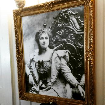 Mme. Modjeska in her stage garb.